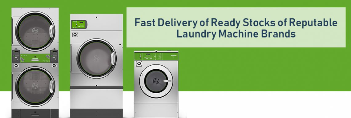 More Customers, More Revenues with Huebsch's Vended Front Load Washer